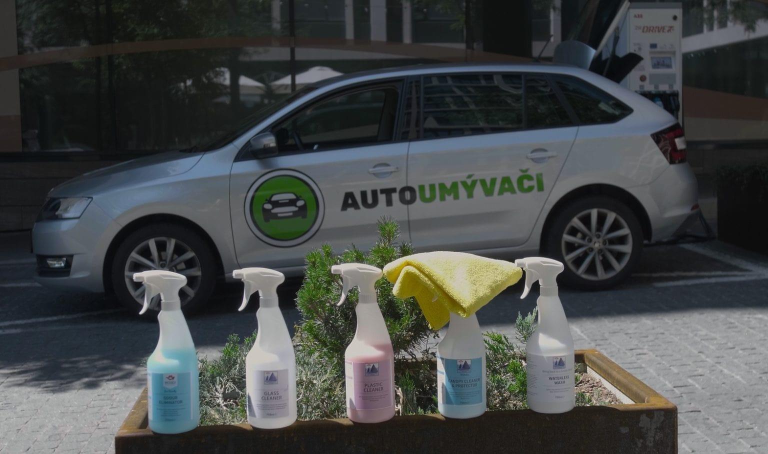 umývanie a tepovanie auta